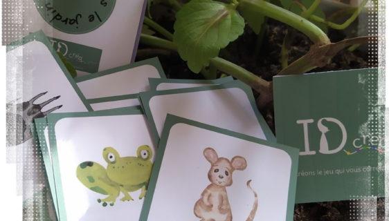 Memory sur les empreintes d'animaux au jardin